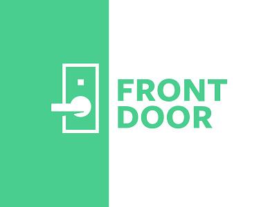 Front Door 2 green handle door