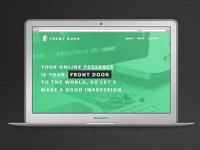 Front Door Web green door