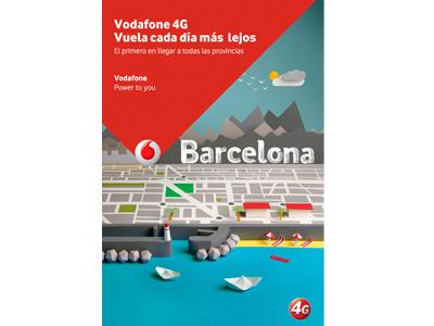 VODAFONE_2 handmade vodafone papercrafts mobil citie