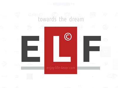 ELF style vector logo branding