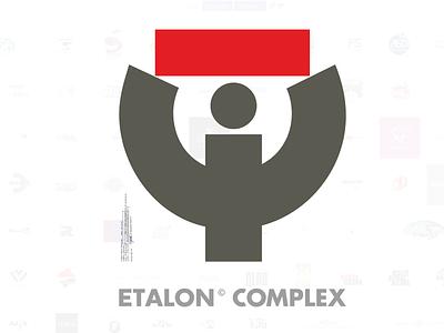 Etalon Complex style vector logo branding