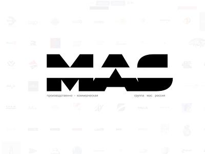 MAS group | all vector logo branding