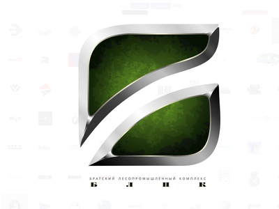 Bratsk Timber Complex logo vector logo branding