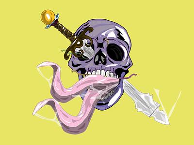 DirtSkull draw illustration design