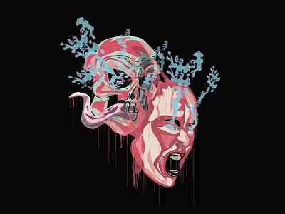 True Face argentina draw vector illustration design