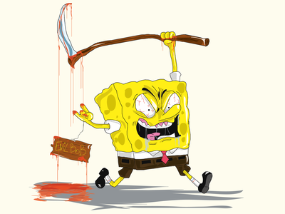 EvilBob 2.0 tv series graphic design cartoons sponge bob sponge bob draw vector argentina illustration design