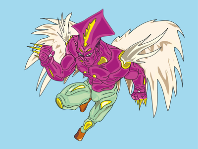 Deer manga anime design argentina draw illustration dragon ball