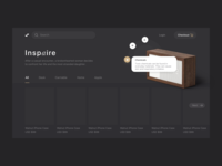 E-commerce Black theme