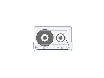 Cassette Loader loader loop vector web animation javascript svg magnetic tape retro cassette