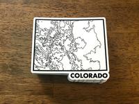 Colorado Topo Sticker