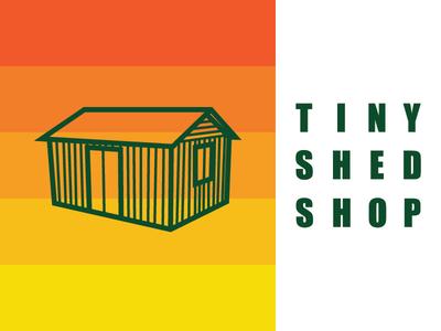 Tiny Shed Shop Branding
