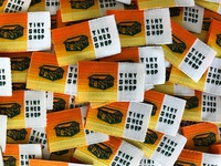 Tiny Shed Shop Woven Labels