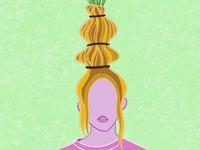 hair vase