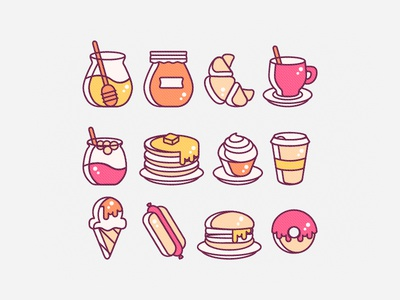 Foodie Icons