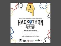 RMHC hackathon flyer