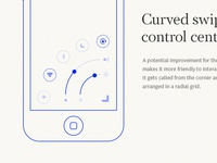Curved swipe #2