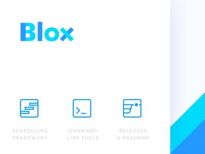 Blox logo development open source logo