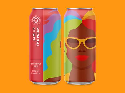 pixelly x collective arts pride gay queer lgbtq craft beer packaging beer can beer collective arts