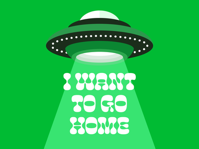 i want to be known green abduction flying saucer ufo aliens phoebe bridgers