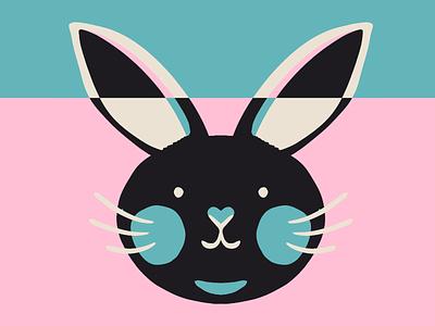 bunbun invert rabbit illustration spring easter bunny easter forest nature animal rabbit bunny