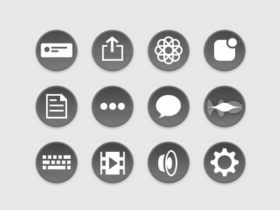 Reveal App Extension icons