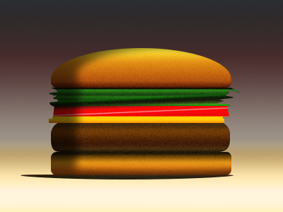 1 Layer Burger photoshop vector 1 layer one layer burger psd