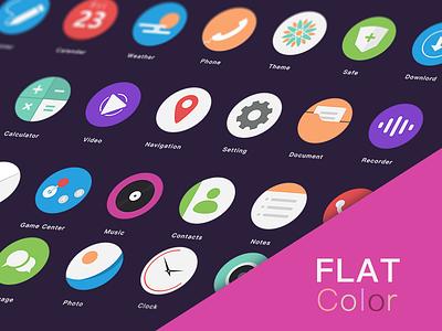 Flat Color flat