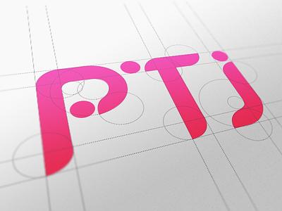 PTJ logo gradient logo