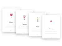 Wine app's guide Page
