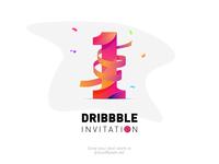 1x dribbble invitation