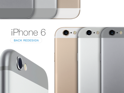 iPhone 6 Back Redesign