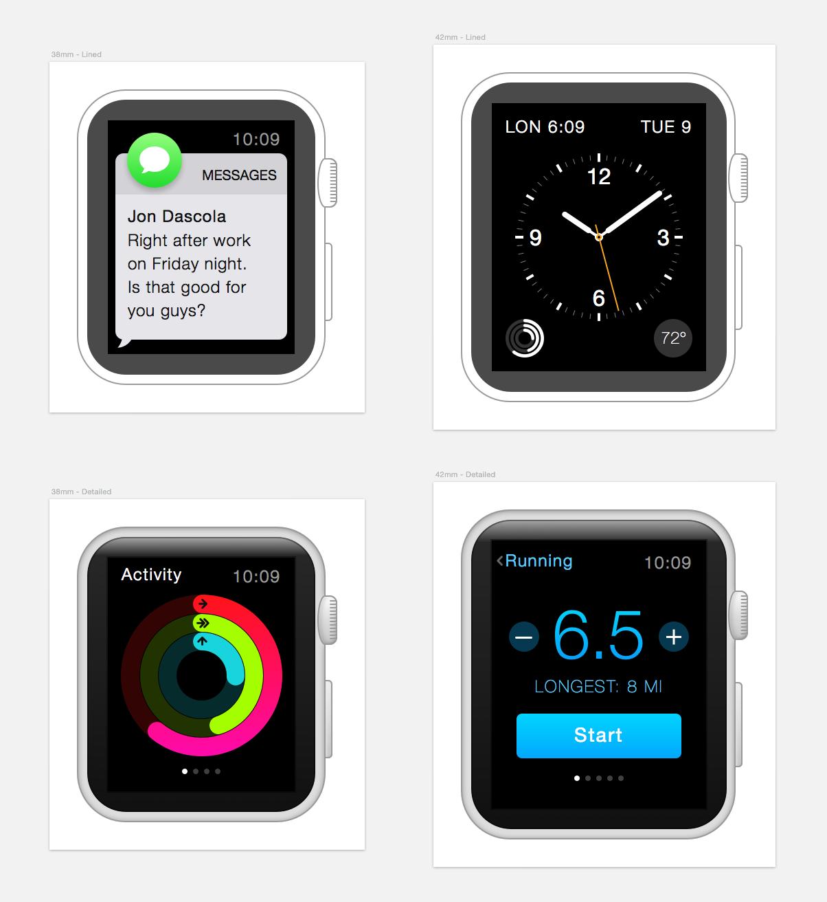 Applewatch sketch quicklook