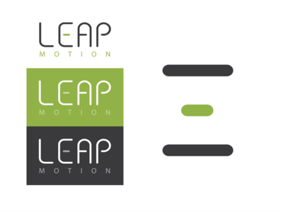 Leap Motion Logo Redesign