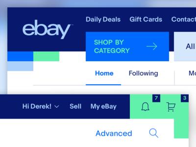 Exploration - New eBay Header