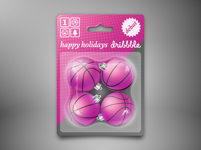 Happy Holidays debut vector pack happy holidays christmas balls