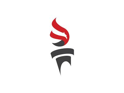 AYAA Logo albania youth association austria logo mark symbol man torch fire eagle proposal
