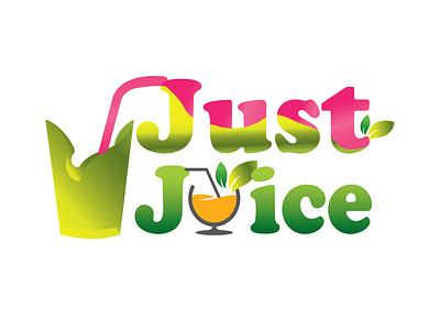 Juice Bar Logo orange juice creative logo unique logo vector logo design branding graphic design organic just juice juice bar logo juice logo juice bar juice