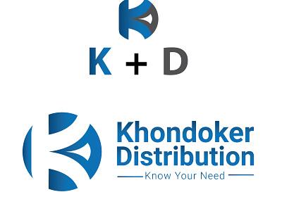 KD Logo design creative logo unique logo vector design logo branding graphic design company logo distribution logo kd logo