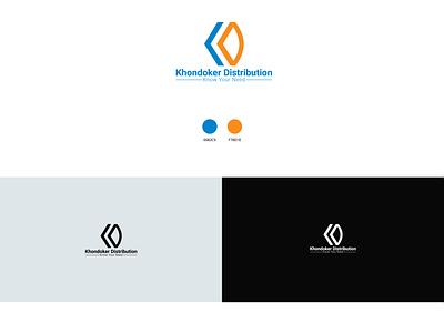 Company logo company logo kd logo distribution logo unique logo vector design branding logo graphic design creative logo