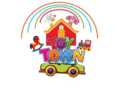 Toy Shop Logo Design creative logo unique logo vector design logo child shop logo toy shop logo toy shop toy logo toy graphic design