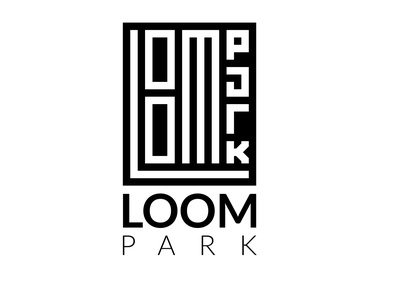 Loom Park Logo illustration creative logo unique logo vector branding design logo graphic design monogram logo retail logo garments business garments logo loom