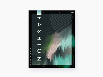 DESIGN A POSTER · DAY 025 design poster a day visual design visual graphic design poster design poster