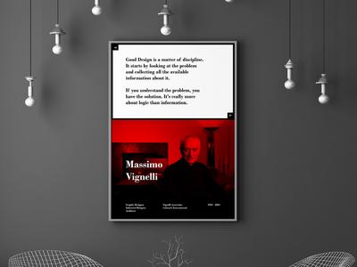 Massimo Vignelli Poster Series