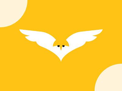 Simple Flat Owl Logo Design todayslogo logo24 brand design vector brand identity dailypost dailylogochallenge creative modern brand logo simple logo flat minimal logos logotype design trendylogo branding logo graphic design