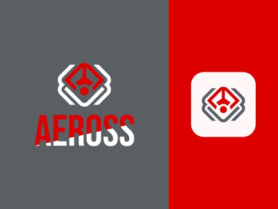 Modern minimal aerospace shop logo design new logo portfolio dribble design logo brand logo creative illustrator logo design logos designer graphic designer vector brand identity brand design minimal design modern branding logo graphic design