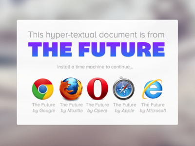 Hyper-Textual Documents from The Future