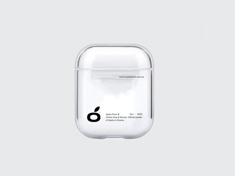 Apple Point® wireless iphone identity training clean repair company business 2020 brand typography branding design plastic grass airpods case fix apple logo