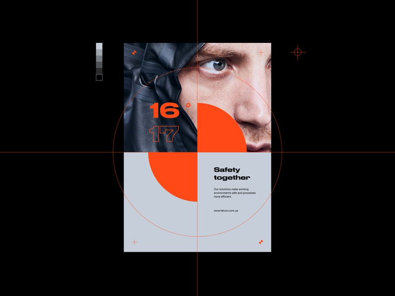 Falcon® promo startup device logo signal search a2 idea extended minimalism clean branding brutalism 2020 2019 brand typography poster poster design poster art