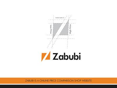 Zabubi Price Comparison Shop Logo Design vector logo graphic design logofolio online store logo ecommerce logo business logo logo inspiration logo trending logotype logo design shop logo design