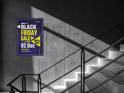 Black Friday Sale Template flyer design black friday poster black friday flyer black friday sale template